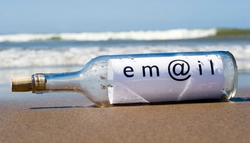 email marketing bottle