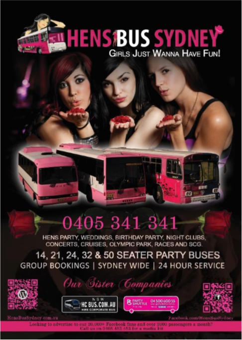 FLYERS DESIGN & PRINT -hensbussydney