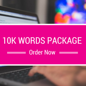 10k Words package - The Marketing Angel